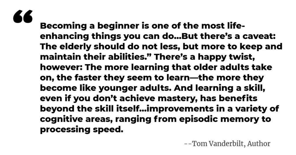 Tom Vanderbilt - Quote from Author